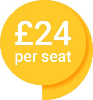 £24 per seat