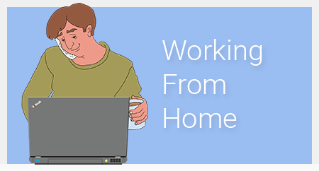working from home course image